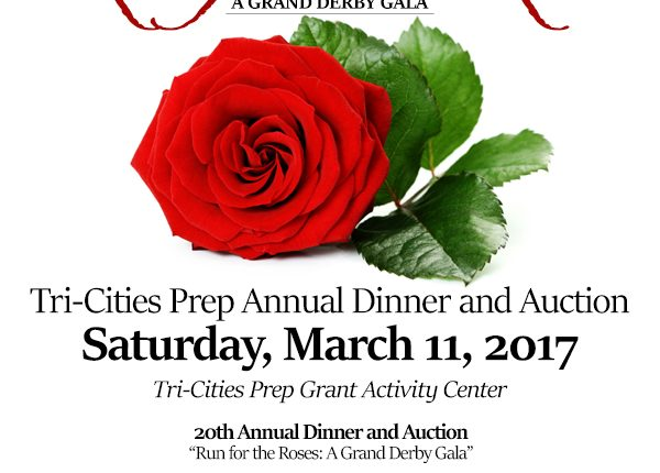 Save Saturday, March 11, 2017 for the 20th Annual Tri-Cities Prep Dinner and Auction